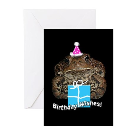 Toad Birthday Cards (Pk of 10)