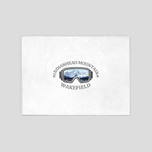 Indianhead Mountain Resort - Wake 5'x7'Area Rug
