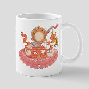 Buddhist Symbols Mug