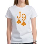 Jack Nine Orange Women's T-Shirt