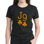 Jack Nine Orange Women's Dark T-Shirt