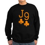 Jack Nine Orange Sweatshirt (dark)