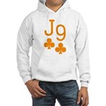 Jack Nine Orange Hooded Sweatshirt