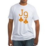 Jack Nine Orange Fitted T-Shirt