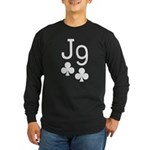 Jack Nine Orange Long Sleeve Dark T-Shirt