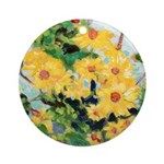 Riccoboni Daisy Ornament (Round)