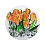 Riccoboni Tulips Ornament (Round)