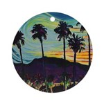 Riccoboni desert night Ornament (Round)