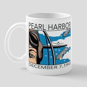 Flyover Pearl Harbor Mug