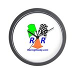 Racing Ready Wall Clock