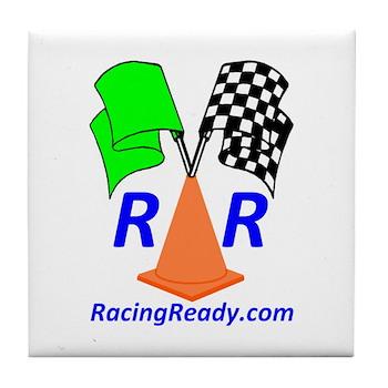 Racing Ready Tile Coaster