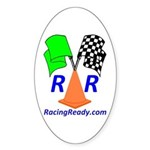 Racing Ready Oval Sticker