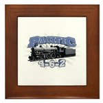 Pacific 4-6-2 Framed Tile