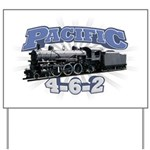 Pacific 4-6-2 Yard Sign