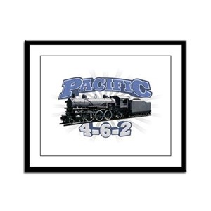 Pacific 4-6-2 Framed Panel Print