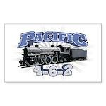 Pacific 4-6-2 Rectangle Sticker