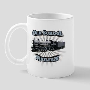 Old School Railfan Mug