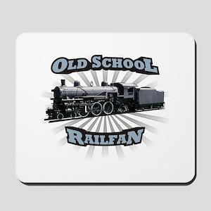 Old School Railfan Mousepad