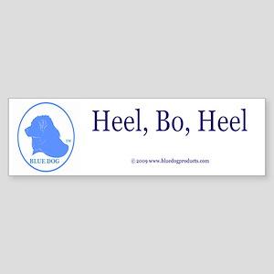 Heel, BO, Heel Bumper Sticker