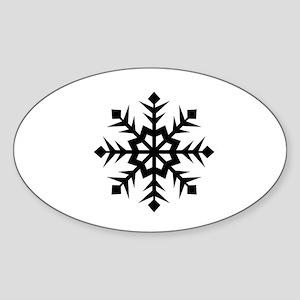 Black Ops Snowflake Sticker