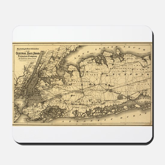 1873 New York City Mousepad