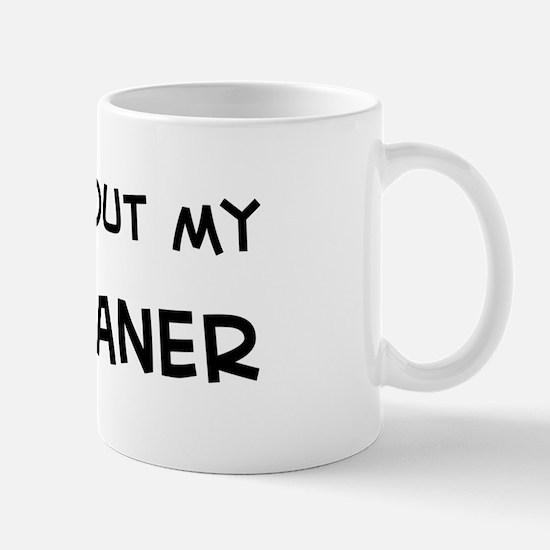 Ask me: Weimaraner Mug