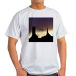 Monument Valley Storm Duo Ash Grey T-Shirt