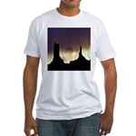 Monument Valley Storm Duo Fitted T-Shirt