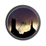 Monument Valley Storm Duo Wall Clock
