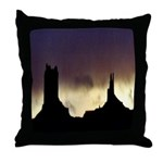 Monument Valley Storm Duo Throw Pillow