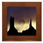 Monument Valley Storm Duo Framed Tile