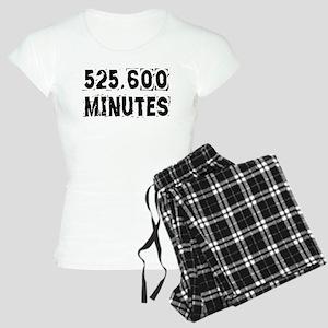 525,600 Minutes (light) Pajamas