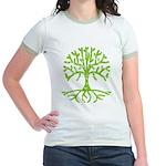 Distressed Tree III Jr. Ringer T-Shirt