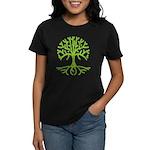 Distressed Tree III Women's Dark T-Shirt
