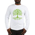 Distressed Tree III Long Sleeve T-Shirt