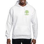 Distressed Tree III Hooded Sweatshirt