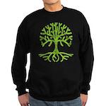 Distressed Tree III Sweatshirt (dark)