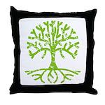 Distressed Tree III Throw Pillow