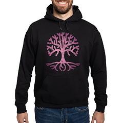 Distressed Tree V Hoodie (dark)