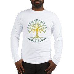 Distressed Tree VII Long Sleeve T-Shirt