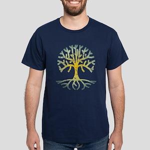 Distressed Tree VII Dark T-Shirt