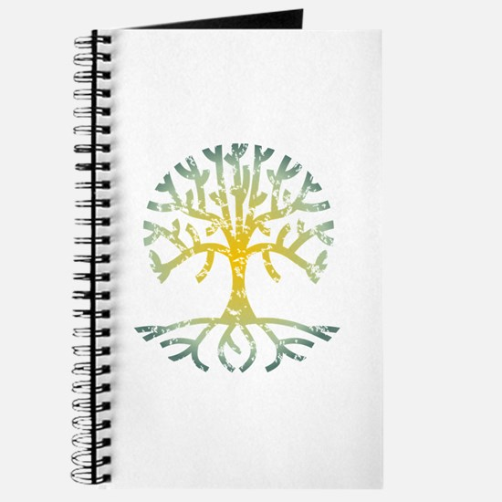 Distressed Tree VII Journal
