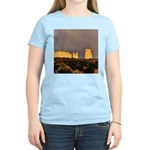 Monument Valley Storm Wall Women's Pink T-Shirt