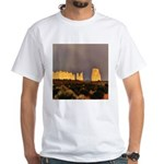 Monument Valley Storm Wall White T-Shirt