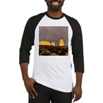 Monument Valley Storm Wall Baseball Jersey