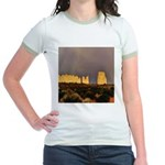 Monument Valley Storm Wall Jr. Ringer T-Shirt