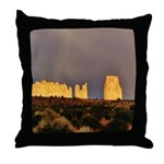Monument Valley Storm Wall Throw Pillow