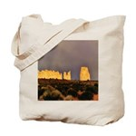 Monument Valley Storm Wall Tote Bag
