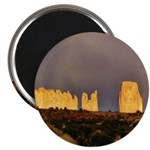 Monument Valley Storm Wall Magnet