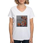 The Polluter Women's V-Neck T-Shirt